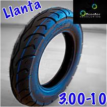 Llanta 3.00-10 Italika Ps90 Vespa Minimoto Pocket Electrica