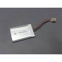 Bateria P/ Caixa De Som Portatil Mp3 Mp4 3,7v 400ma 2 Fios