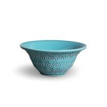 Conjunto Bowls Manish Azul - 6 Peças - Em Cerâmica