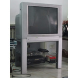 Tv Televisor Philips 29 Pulgadas Real Flat + Mesa