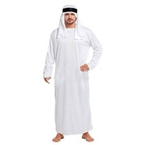 Fantasia Masculina Sheik Árabe- Tamanho Único