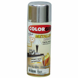 Tinta Spray Colorgin Metalico Cromada. 350ml