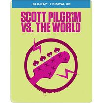 Scott Pilgrim Vs The World Steelbook Blu Ray Nueva Sellada