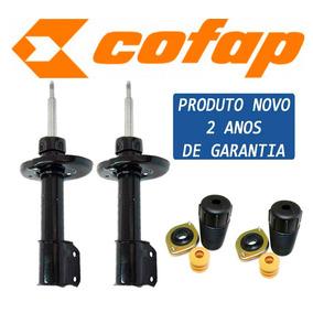 2 Amortecedor Dianteiro Corsa/celta Cofap - Novo + Kits