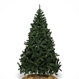 Árbol De Navidad Clásico Verde Altura 2.10 Cms
