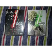 Películas Star Wars Trilogías Colección Completa Dvd Nuevas