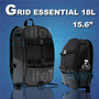 Mochila Targus Grid Essential 18l Backpack 15.6 Itelsistem