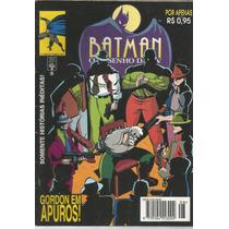 Batman O Desenho Da Tv 08 - Abril - Bonellihq Cx428