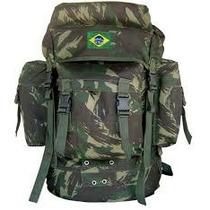 Mochila Pqd Grande - Camuflada Brasil
