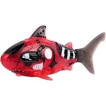 Robô Fish Peixe Pirata Brinquedo Dtc 2957 Vermelho