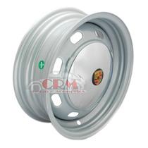 Roda Fusca Mexicano 8 Janelas C/ Calotas Porsche 4 Furos