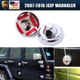 Fit 2007-2016 Jeep Wrangler Antena Base Trim Cubiertas