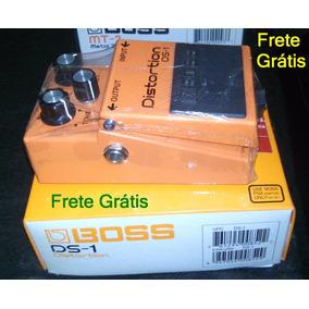 Pedal Boss Ds-1 Distortion Ds1 Zerado Na Caixa Frete Grátis
