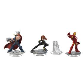 Combo Novo Boneco Disney Infinity 2.0 Marvel The Avengers