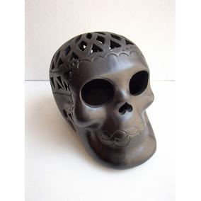 Artesanías De Barro Negro De Oaxaca. Cráneos Finos Calados!
