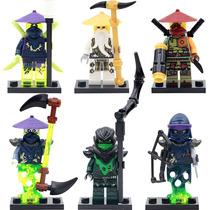 Ninjago Lego Compatível Conjunto Com 6 Modelo 1