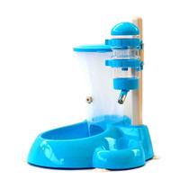 Bebedouro Comedouro Azul De Bilha Gatos Cães Promoção