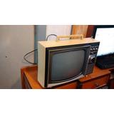 Televisão Antiga Telefunken Rara Retro Bege Não Funciona