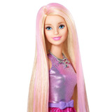 Barbie Estilo Y Color De Cabello Cfn47 - Rosa
