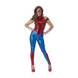 Disfraz Secreto Deseos De Vestuario Spidergirl Universo Mar