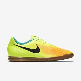 Chuteira Futsal Nike Magista Azul E Amarelo Frete Gr tis ... 8dac92914a0be