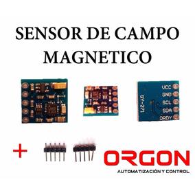 Sensor De Campo Magnético Gy271 Brújula Electrónica Robot