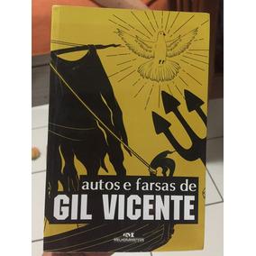 Autos E Farsas De Gil Vincenfe - Livro Novo!