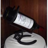 Porta Botella De Vino En Hierro