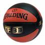 Balon Basquetbol Spalding 10 Panel Tf33 Composite Silver #5