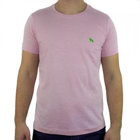 Camiseta Masculina Acostamento Manga Curta Decote Redondo