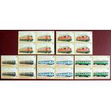 Sahara Trenes, Serie 5 Cuadros 1992 Mint L6625