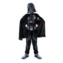 Fantasia Infantil Longa Darth Vader Starwars Original Disney