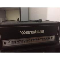 Amplificador Cabezal Wenstone Ge-1600h Con Caja 4x12
