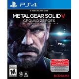 Original Entrega Hoy Metal Gear Solid 5 Ground Zeroes Ps4