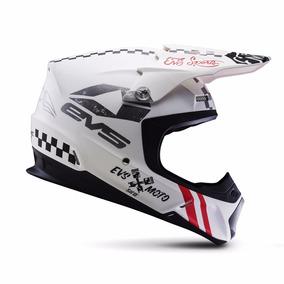 Casco Para Motocross Enduro Cuatrimoto Evs T5 Fury