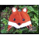 Gorros De Lana Al Crochet Animales Artesanales