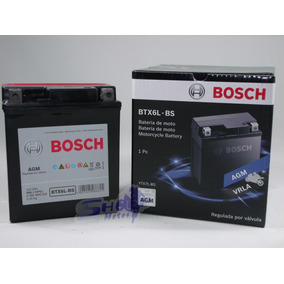 Bateria De Moto Bosch Gel Honda Lead 110 2009 À 2013 - Btx6