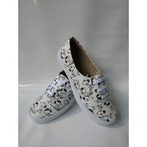 Calzado Tenni Bolichero Zapato Dama Snoopy Envío Gratis