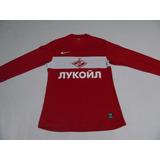 Camiseta Oficial Del Spartak Moscow - Tela De Juego - Nike