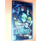 Naruto Shippuden Legends Akatsuki Rising - Psp- Nuevo - Ojh