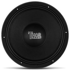 Woofer 12 Polegadas 600w Rms Falante Medio Thor Mg12-600 8r