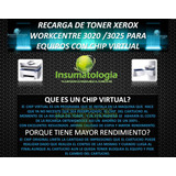 Chip Virtual Xerox 3025 Samsun Dell Primera Recarga Incluida