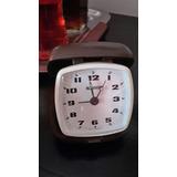 Reloj Despertador Blessing Aleman Cuerda Año 70 Tipo Cartera