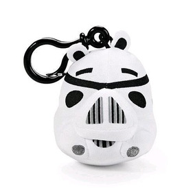 Chaveiro Angry Birds Star Wars Pelucia Trooper