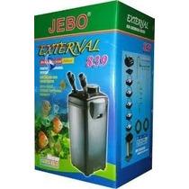 Filtro Externo Canister Jebo 839 - 220v - 1500 L/h