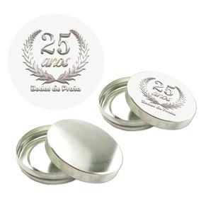 300 Latinha Mint To Be 300 Adesivo Bodas De Prata 25 Anos