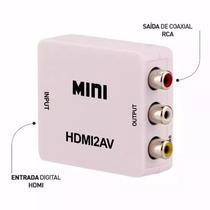 Conversor Hdmi X 3 Rca Vídeo Componente Sky Xbox Ps3 Tv Tubo