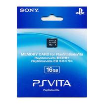 Cartão De Memória 16gb Ps Vita Sony Original 12x Sem Juros