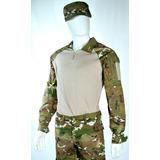 Gandola Combat Shirt Camuflada Multicam- Uniformes E Fardas