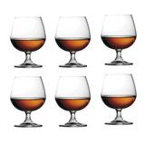 Juego 6 Copas Cristal Cognac Brandy Prinz